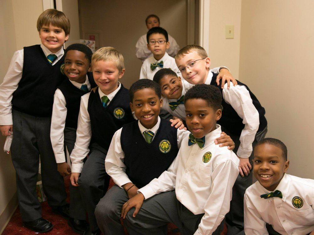 """As a local arts organization, the Choir relies on our generosity to continue their work in the lives of boys here in Atlanta."" - Tom Stokes"