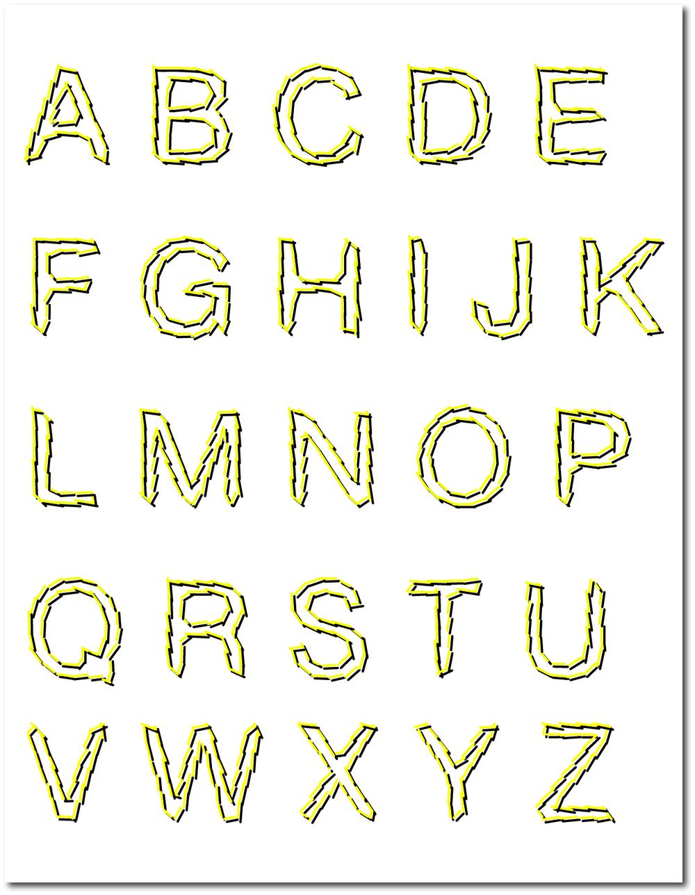 Blitz Alphabet, 2013.