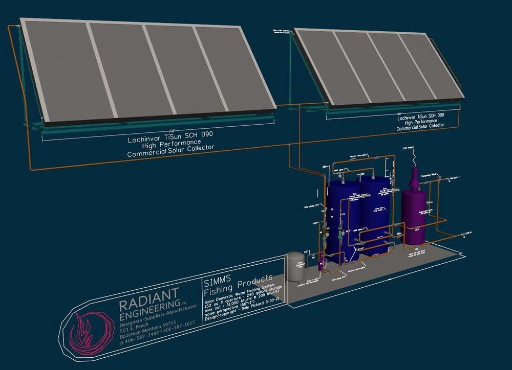 Simms 3d Design Model