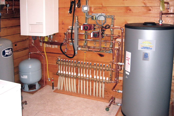 custom hydronic radiant heating