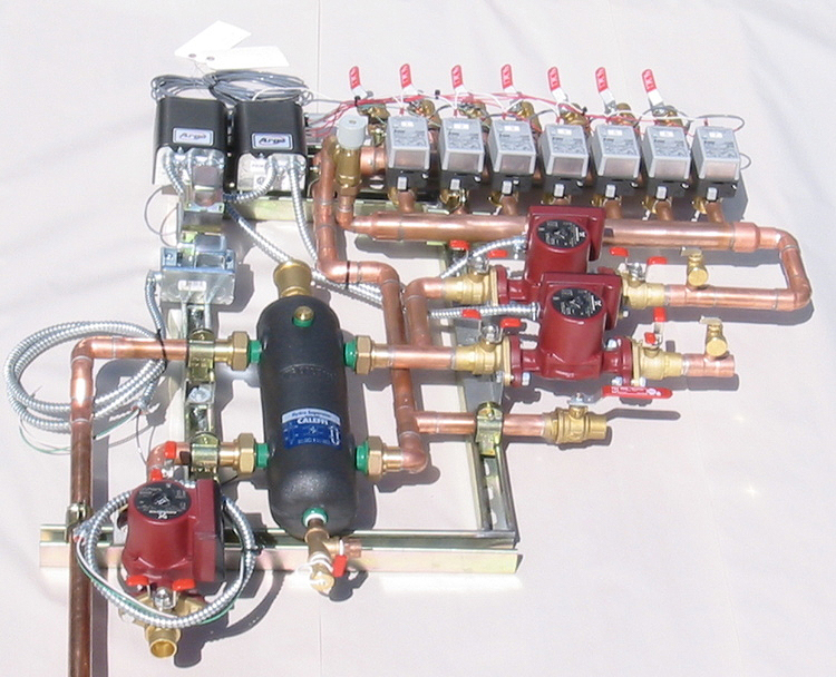 custom hydronic system fabrication by Radiant Engineering Inc