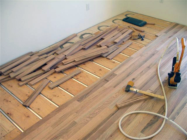Thermofin radiant heat transfer plates radiant design supply inc use the shorter length hardwood flooring nails to avoid puncturing radiant floor heating installations when installing wood flooring solutioingenieria Choice Image