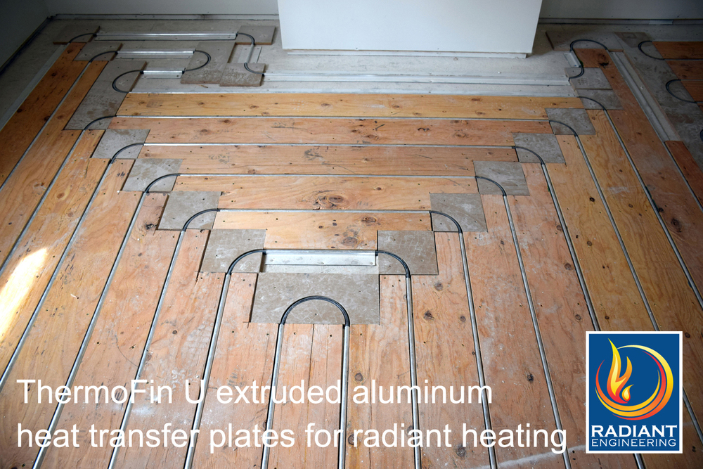 Thermofin Radiant Heat Transfer Plates Radiant Design Supply Inc