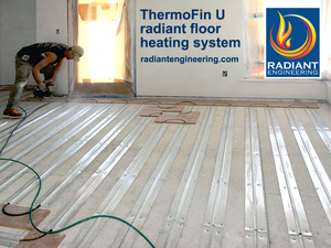 Beautiful Radiant Heat Basement Floor