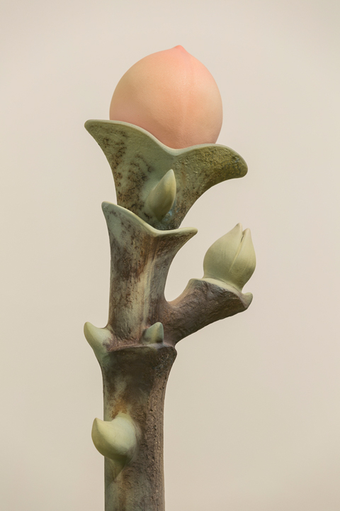 Detail of Tree Totem, GCMA, Alice Ballard's solo showgeorgeleephotography.com