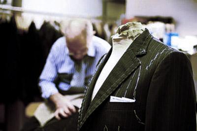 Custom-tailored suits