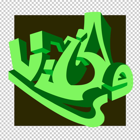 Early attempt at 3D graffiti: Vibes (2004)