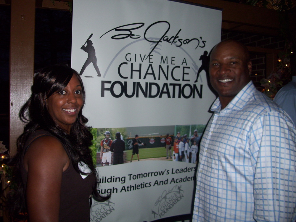 "Interview with Bo Jackson After His ""Give Me a Chance Foundation"" Charity Event"