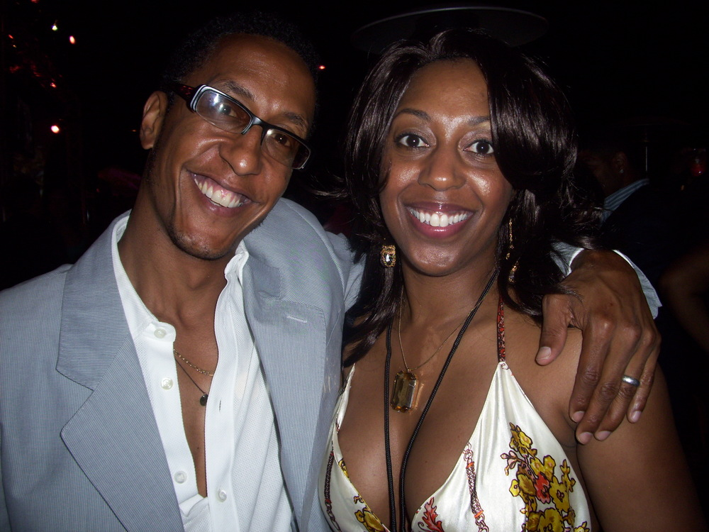 Andre Royo, of The Wire at Charity Event