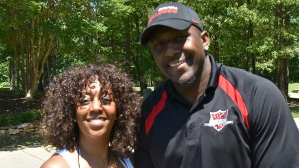 Tammie Tolbert with TDDDF Founder Thomas Davis.jpg