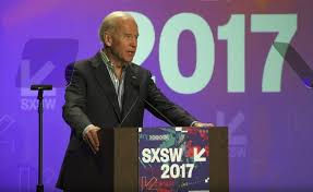 Former Vice President Joe Biden's son Beau Biden died from Brain Cancer. For VP Joe Biden is an avid supporter of Cancer Moonshot. He took to the stage at the SXSW in Austin, Texas to discuss the initiatives that Cancer Moonlight has to fight cancer. Log onto www.cancerbreakthrough2020.org.