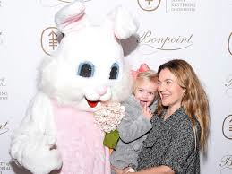 Superstar Actress Drew Barrymore and her 2-year old daughter, Frankie attended the Society of Memorial Sloan Kettering's Annual Bunny Hop which is an organization that helps children at Memorial Sloan Kittering Cancer Center.