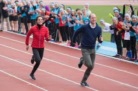 "Prince William and Duchess Kate were in London where they raced for 50 meters to promote their mental-health campaign, ""Heads Together!"" The Royal couple work to obtain support and awareness regarding Mental Health Disorders."