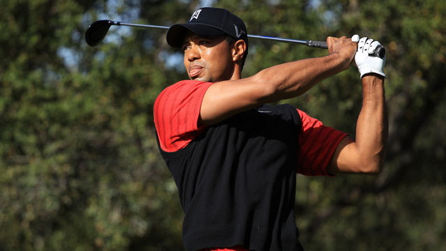 Golf Master Champion and PGA Superstar, Tiger Woods, takes his best shots with his Tiger Woods Foundation. Photo Credit: ProdigySports.com