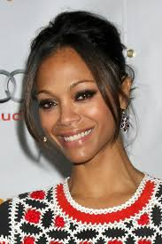 Actress Zoe Saldana was awarded her well deserved STAR on Hollywoods Walk of Fame on Hollywood Boulevard in Hollywood, California