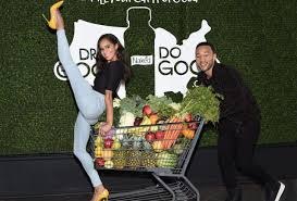 "While in New York, Prima ballerina Misty Copeland and Music extraordinaire, John Legend joins Wholesome Wave and the Pepsi Co., Pepsi product Naked Juice in its "" Drink Good Do Good "" campaign."" Copeland and Legend are very charitable celebrities who both lend their support to various charitable endeavors. These two are helping the nonprofit organization Wholesome Wave to provide food-insecure people with good food. Do your dance and hashtag #FillYourCartForGood!"