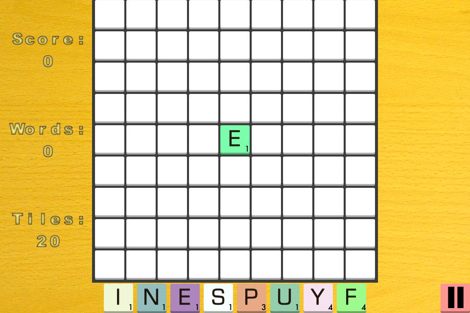 WordingDing screen