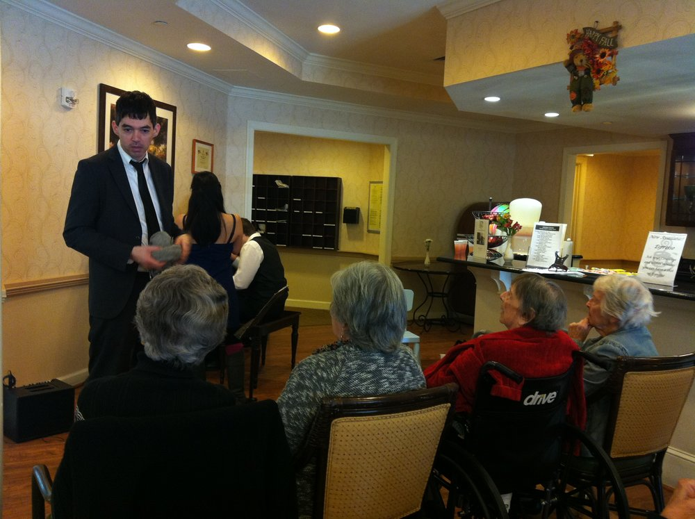 concert at nursing home