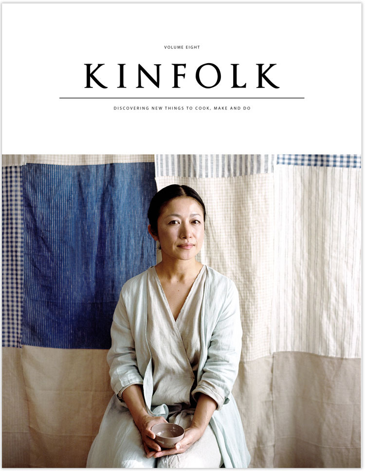 image from  Kinfolk Magazine
