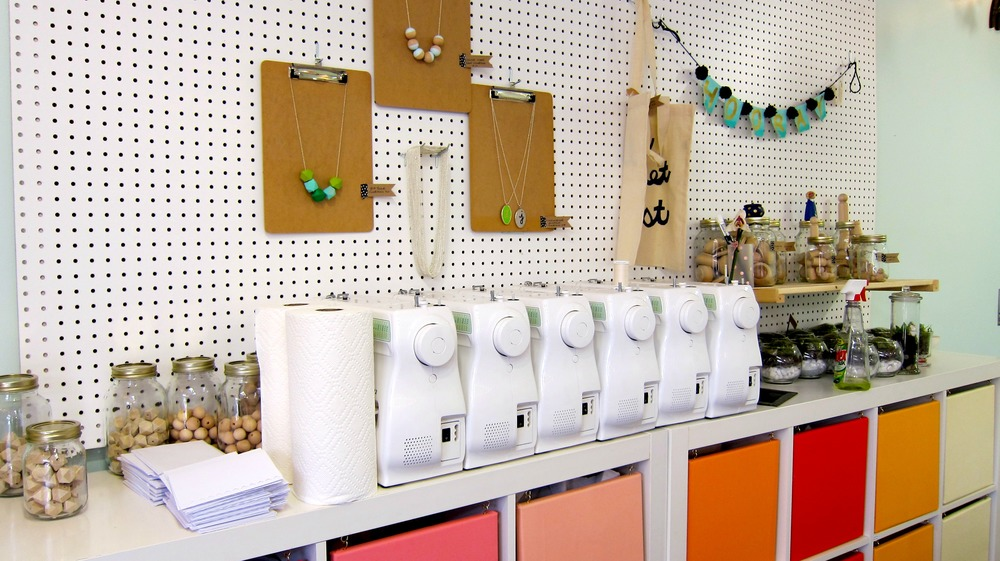 The Makery is prepped and ready with equipment! Click here for more photos