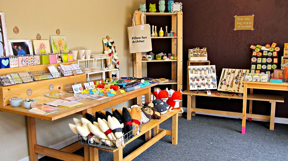 Community has pop up shops. I'm excited to see what else they carry throughout the summer. Click here for more details.