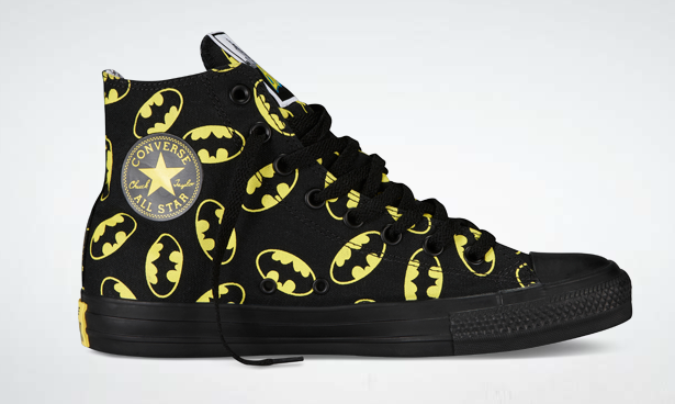 My personal favorite- Batman Converse