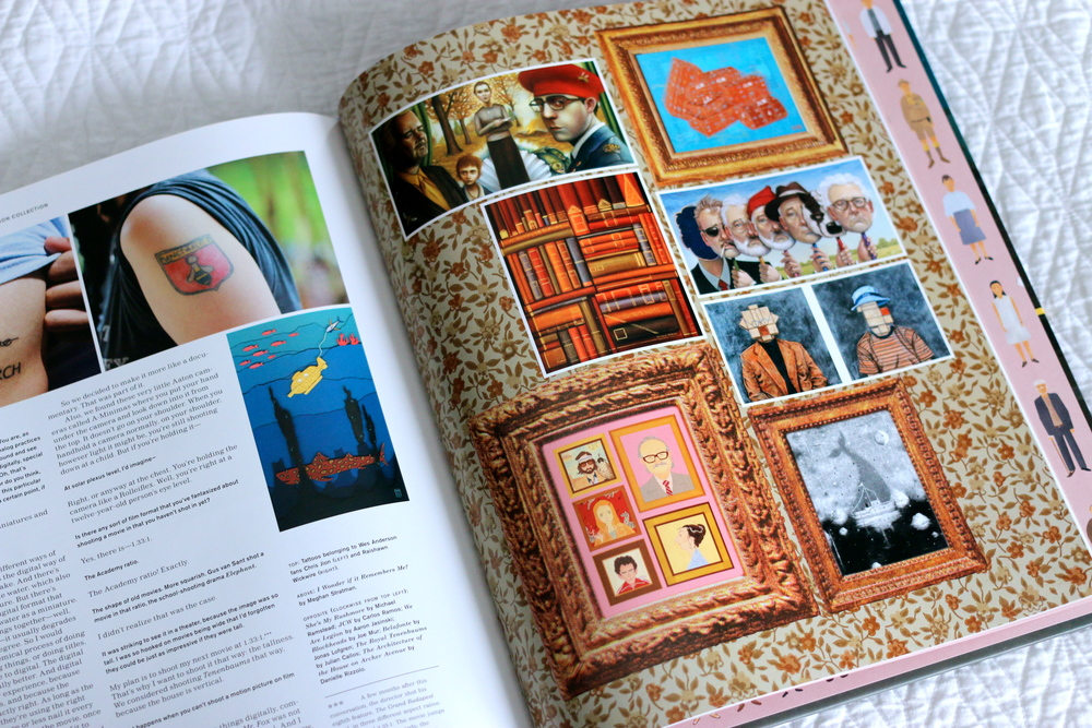 The Wes Anderson Collection Book The Royal Tenenbaums inspo page on ourcitylights