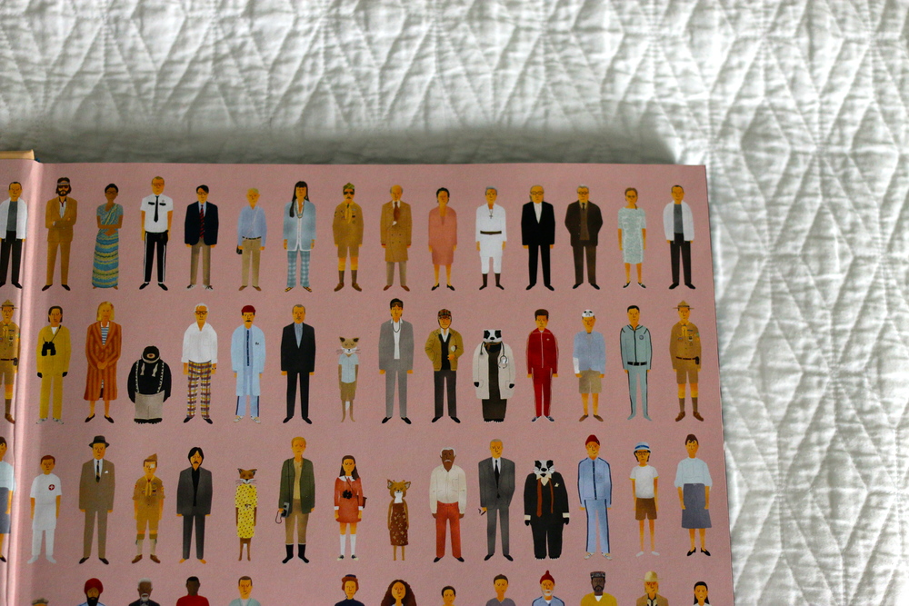 The Wes Anderson Collection Book inside cover on ourcitylights