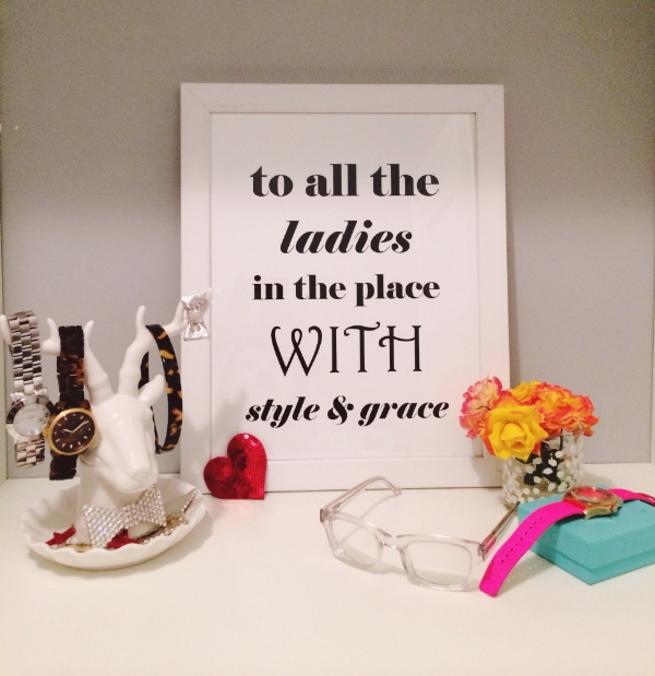 I had so much fun styling this Biggie quote print for Ninah for  her shop  last week.