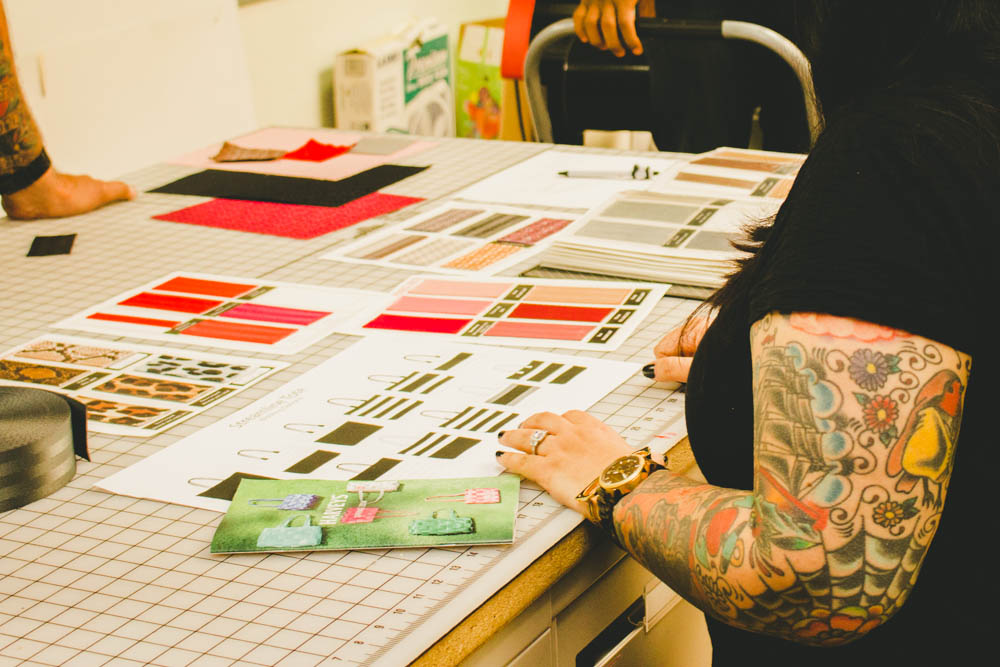 Design Process at Harveys