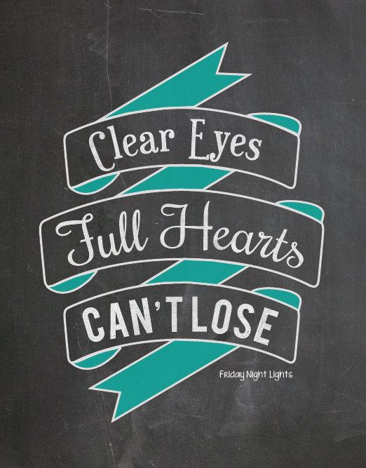 Clear Eyes Print by Speak Easy Digital Art