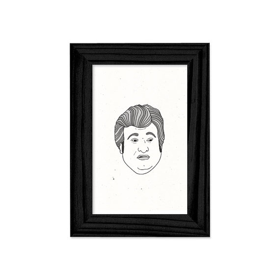 Buddy Garrity framed print by brianmietz