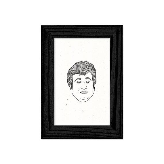 Buddy Garrity framed print by brianmietz