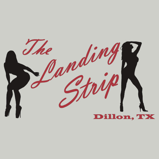 The Landing Strip shirt by Red Bubble