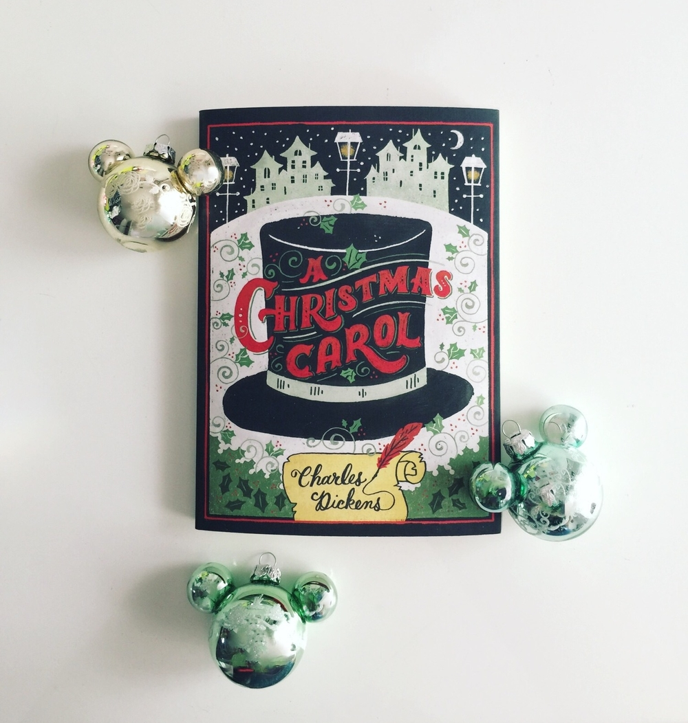 I'm ready for Christmas. This Puffin Edition of The Christmas Carol will make a great holiday decoration. I also love my new Disney ornaments. I'm ridiculously excited!