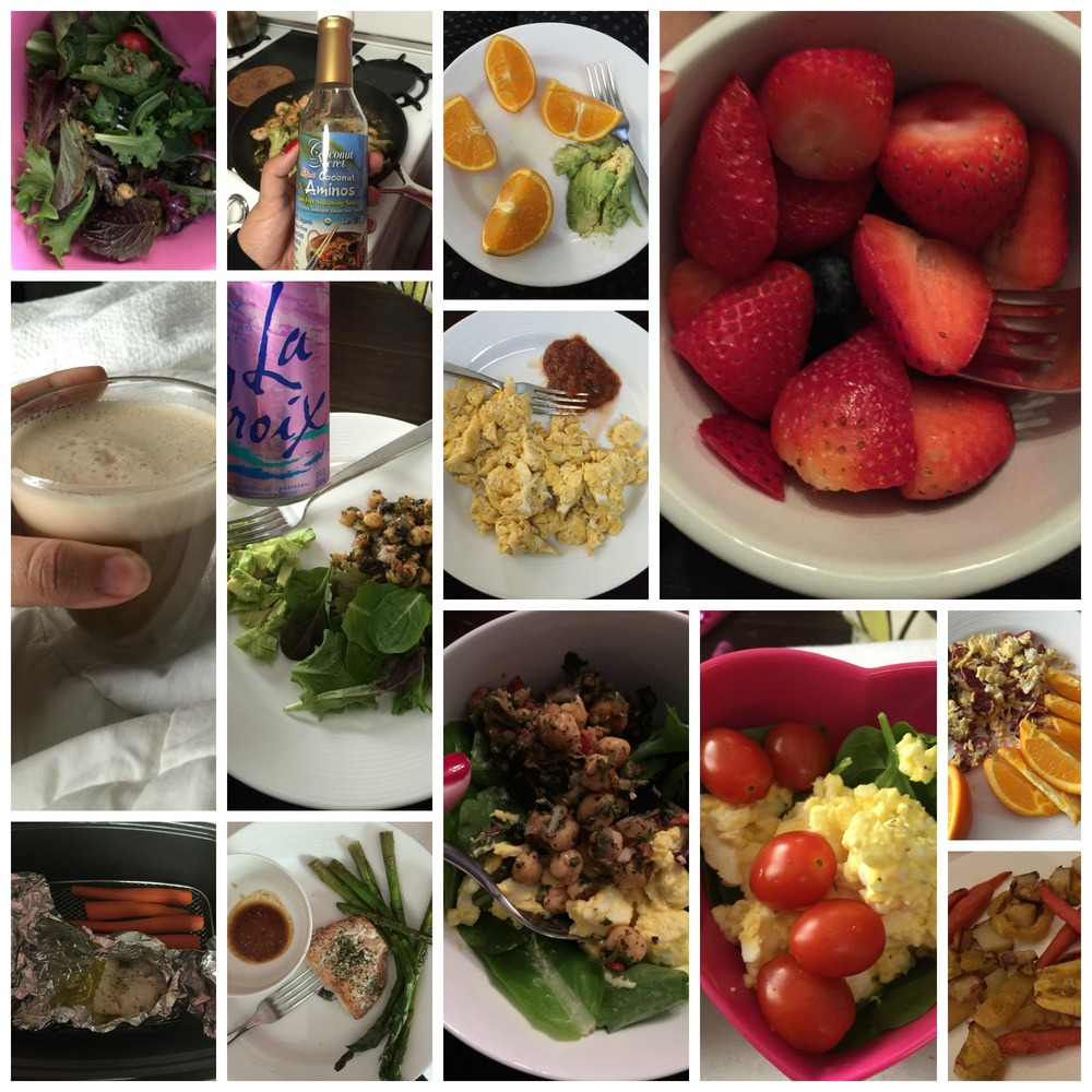 I've been posting my meals on MyFitnessPal if you'd like to follow along
