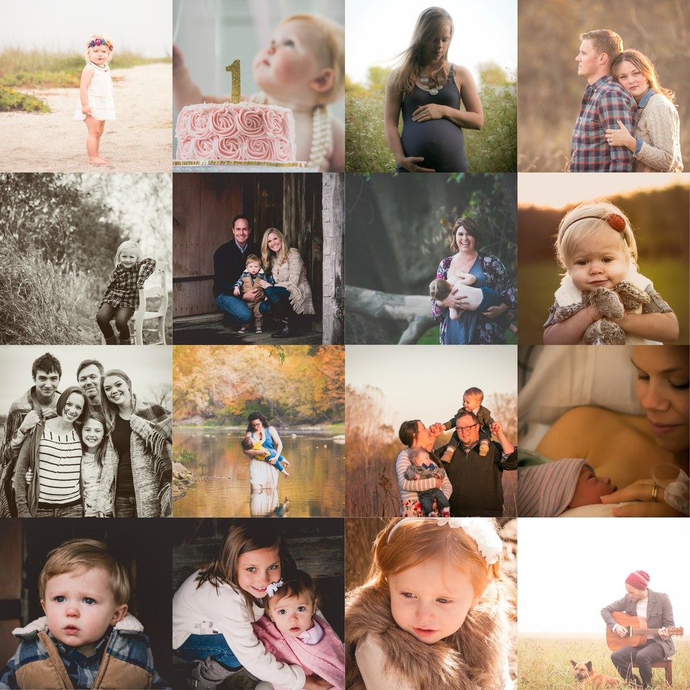 A few of my amazing 2015 families