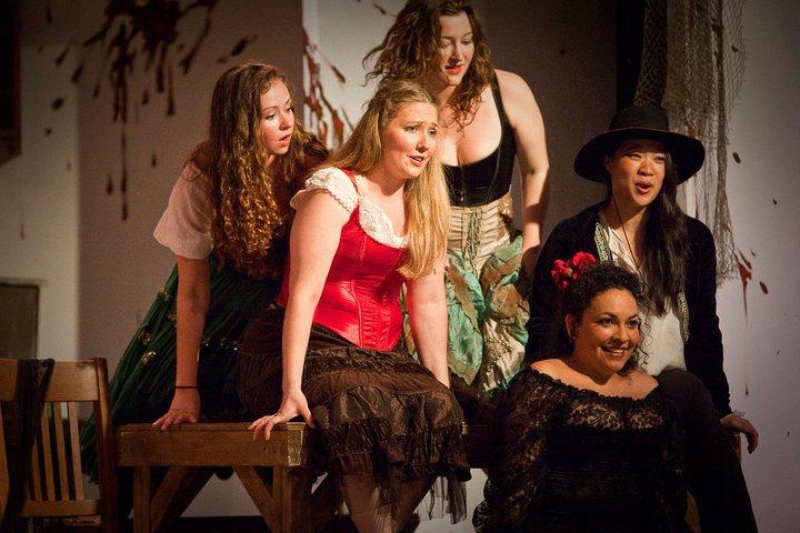 Carmen, Quintet (Frasquita, with Christina Hourihan, Jenny Greene Ribeiro, Olivia Kang, Elizabeth Mondragon)