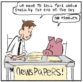Pig Bottom & Me: Paper Boyz