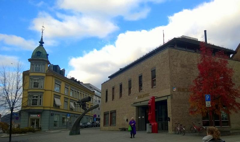 Lillehammer bibliotek - et vakkert sted på denne jord