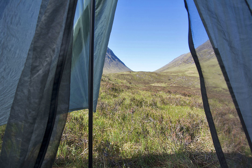 Waking up in Glen Coe
