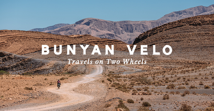 Bunyan Velo is a quarterly collection of photographs, essays, and stories celebrating the simple pleasures of traveling by bicycle. Read it free at http://www.bunyanvelo.com.