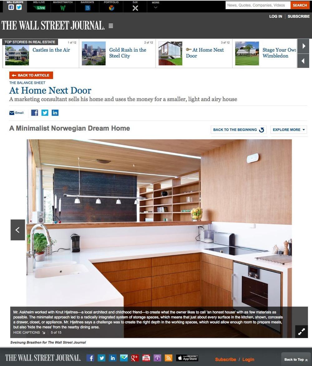 Trykk på bildet for å lese hele artikkelen i the Wall Street Journal eller Bonytt