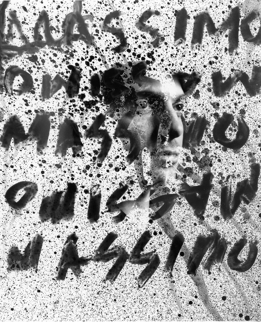 "Massimo Portrait III,  8""x10"" Silver gelatine print"