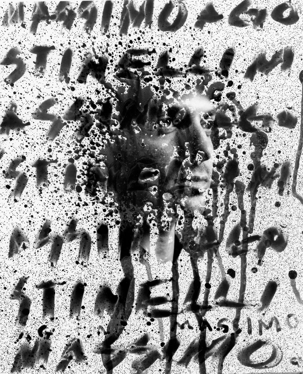 "Massimo Portrait I, 8""x10"" Silver gelatine print"