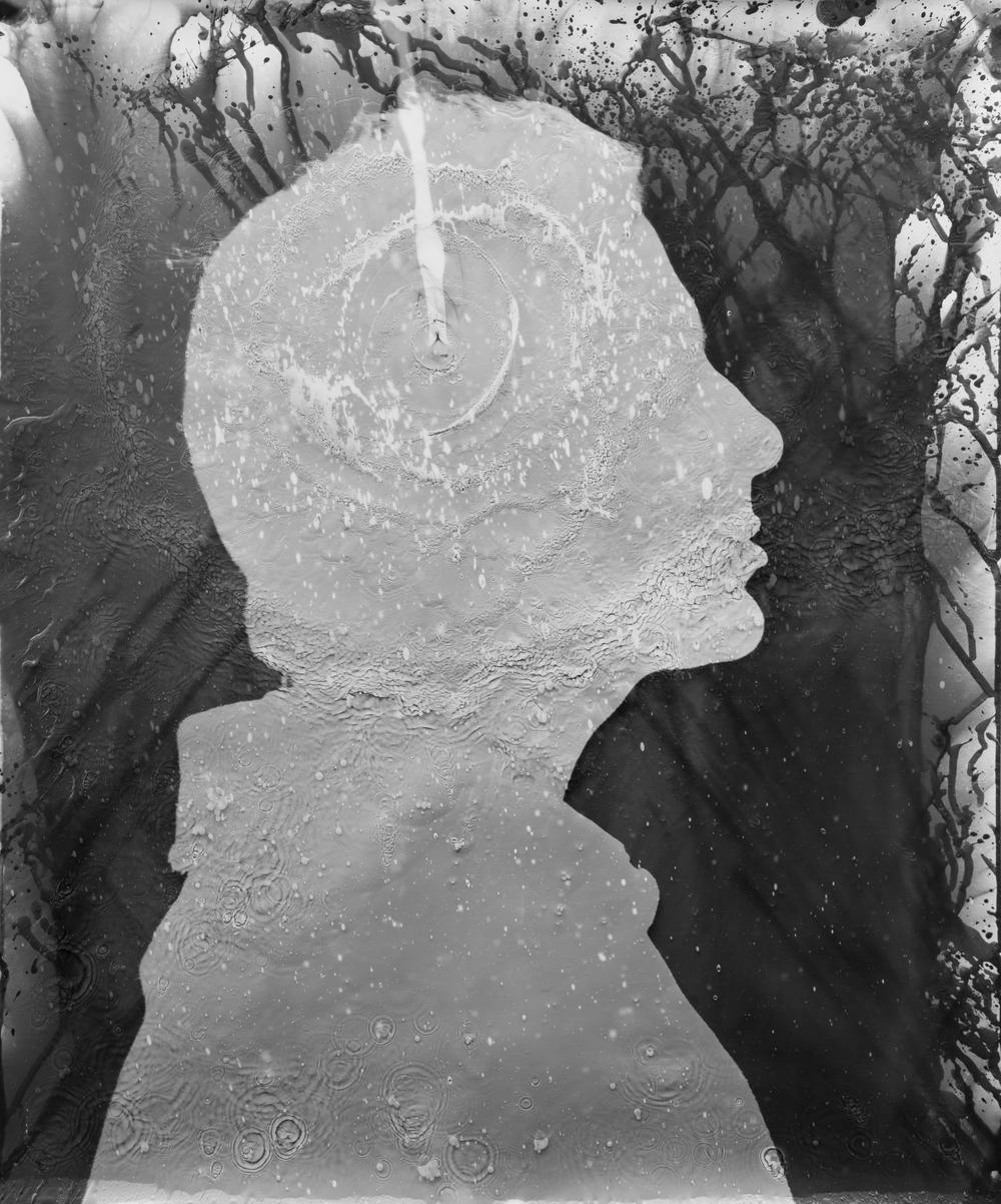 "Massimo Portrait IV, 20""x24"" Silver gelatine print"