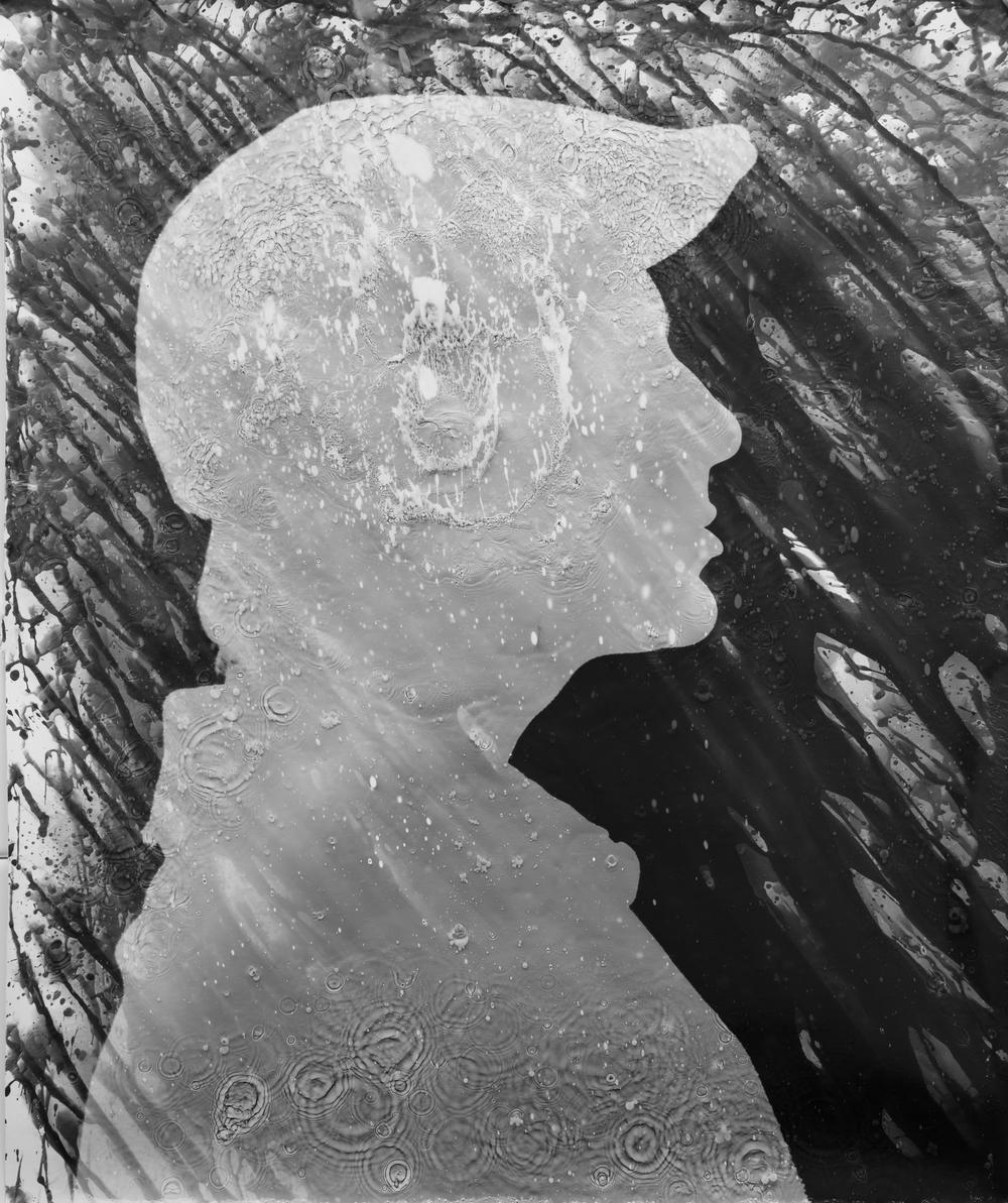 "Massimo Portrait V, 20""x24"" Silver gelatine print"