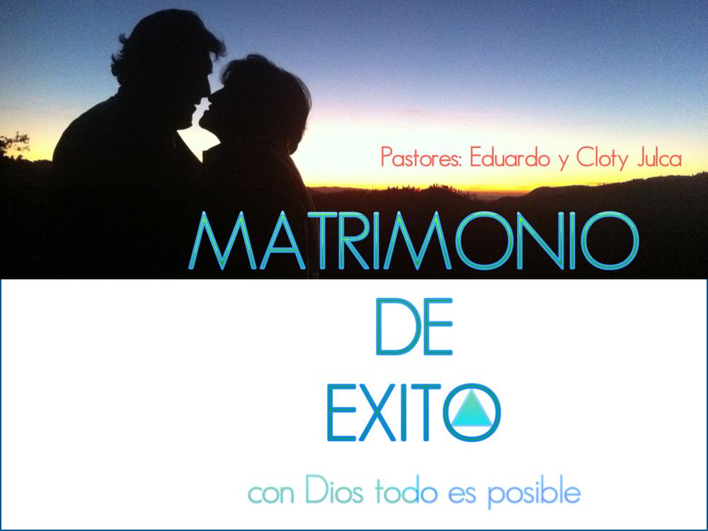 MATRIMONIO DE EXITO COVER.jpg