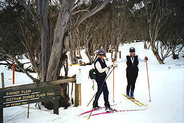 Photo by Alan Levy of the Canberra Cross Country Ski Club.