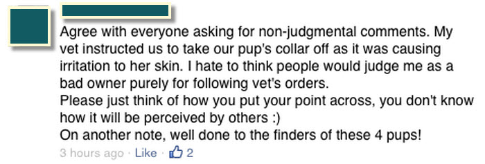 vet's orders, please don't judge, think about how you come across.jpg